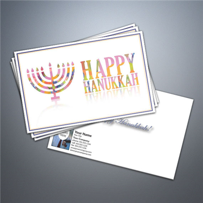 Happy Hanukkah 2 Postcard