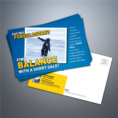 Short Sale Postcard - Balance