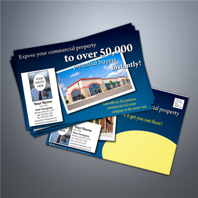 Commercial Real Estate Postcards