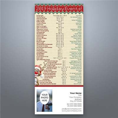 CO Holiday Events Magnet