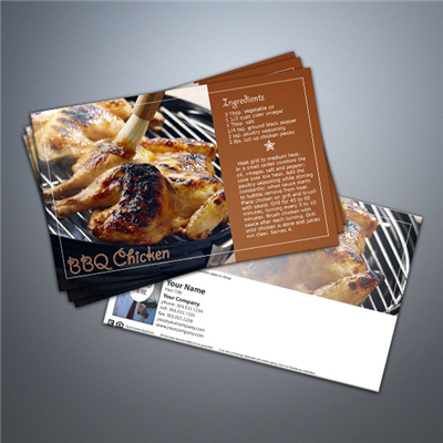 Cooking Series Postcard 007 - BBQ Chicken