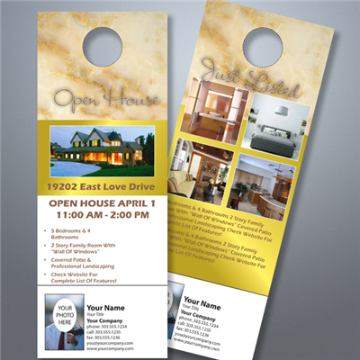Open House Door Hanger 003