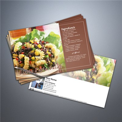 Cooking Series Postcard 030 - Fiesta Pasta Salad