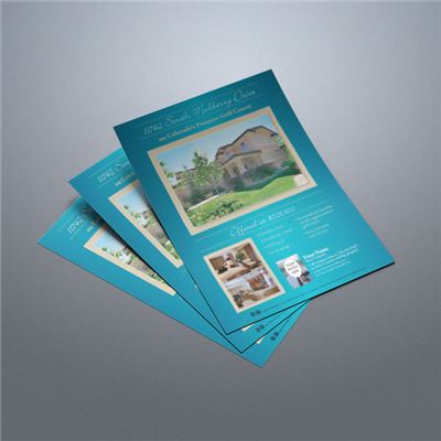 Property Flyer 014 (Teal)