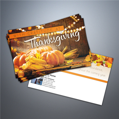 Thanksgiving - Gratitude Postcard