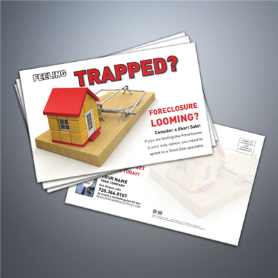 Short Sale Postcard - Trapped