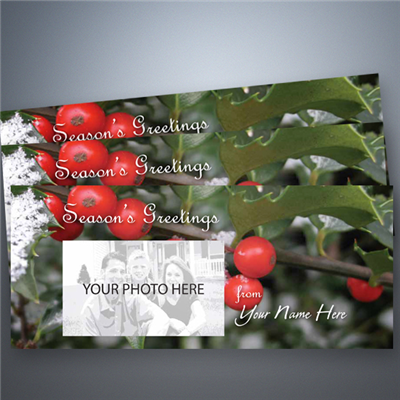 Holiday Photo Card 011