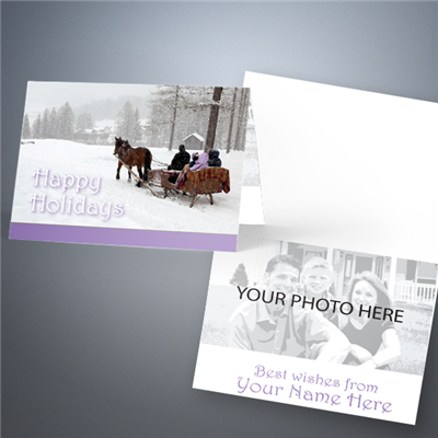 Holiday Photo Greeting Card 003