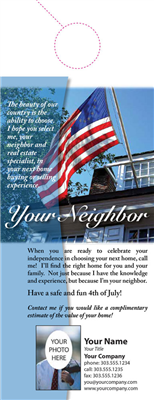 Your Neighbor Door Hanger 006 Flag